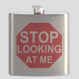 Stop Looking At Me Flask