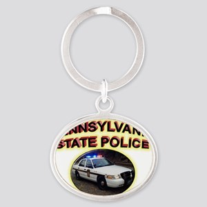 paspvic Oval Keychain
