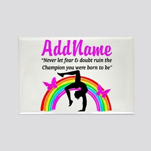 GYMNAST 10.0 Rectangle Magnet
