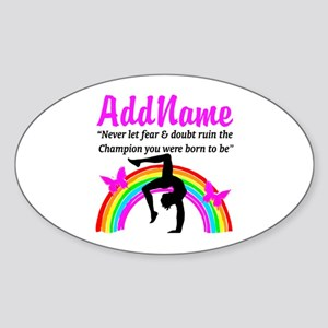 GYMNAST 10.0 Sticker (Oval)