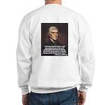 "Thomas Jefferson ""Rejoice"" Sweatshirt"