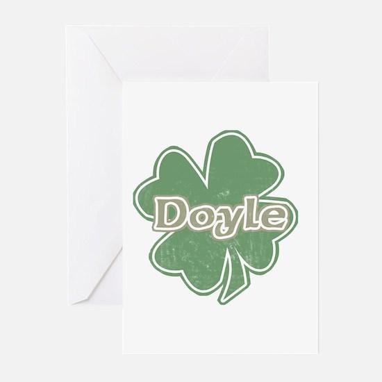 """""""Shamrock - Doyle"""" Greeting Cards (Pk of 10)"""
