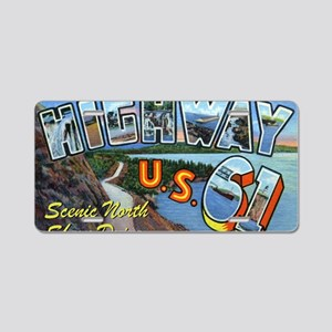 Hiway61_Print Aluminum License Plate