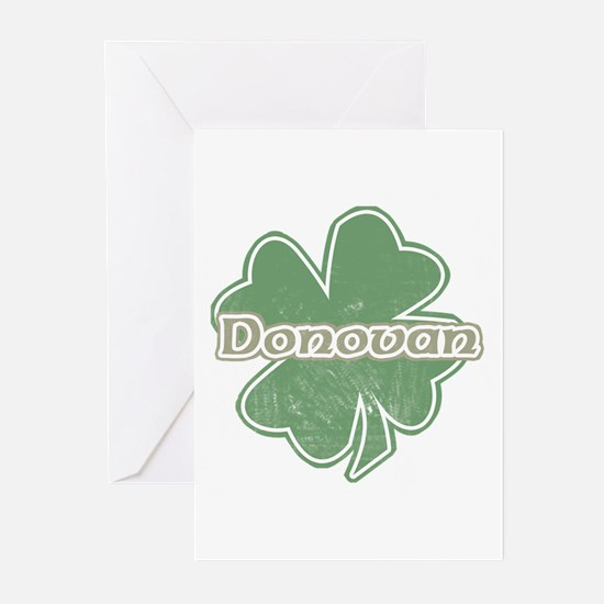 """Shamrock - Donovan"" Greeting Cards (Pk of 10)"