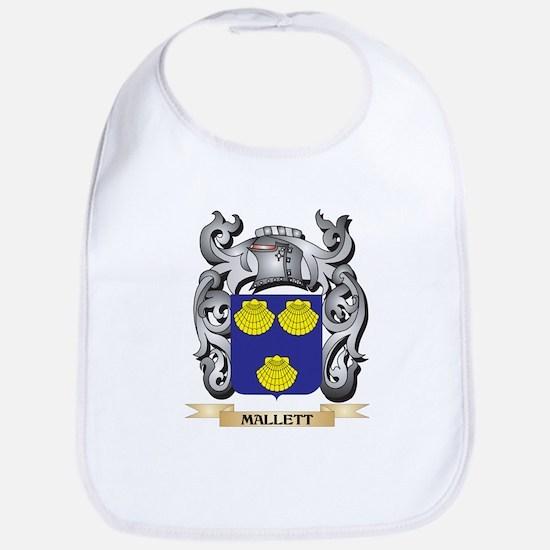 Mallett Coat of Arms - Family Crest Baby Bib