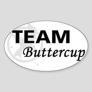 Buttercup Magnet Sticker (Oval)