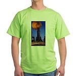 Toroidal lime shirt with additional dumb joke