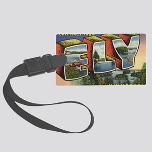 Ely_PrintFramed Large Luggage Tag
