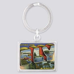 Ely_PrintFramed Landscape Keychain