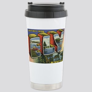 Ely_PrintFramed Stainless Steel Travel Mug