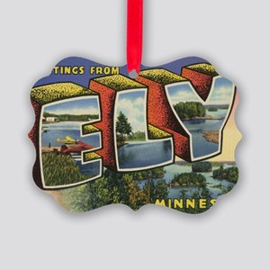 Ely_PrintFramed Picture Ornament
