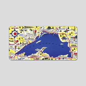 LSCircle_Print Aluminum License Plate