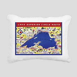 LSCircle_Gcard Rectangular Canvas Pillow