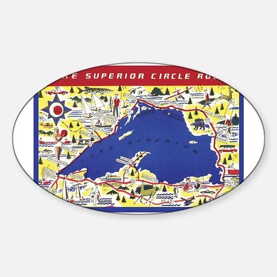 LSCircle_Gcard Sticker (Oval)