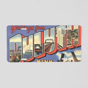 GreetDuluth_Print Aluminum License Plate