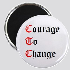 Courage To Change Magnet