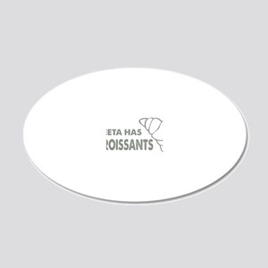 hg760 20x12 Oval Wall Decal