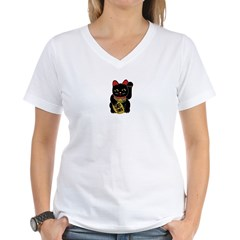 Black Maneki Neko Shirt
