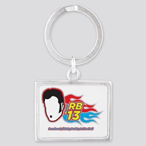 RB13_TeeGraphic_nobackground Landscape Keychain