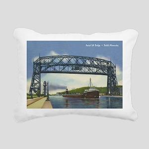 LiftBridge_PrintFramed Rectangular Canvas Pillow