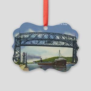 LiftBridge_PrintFramed Picture Ornament