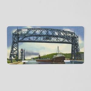 LiftBridge_Print Aluminum License Plate
