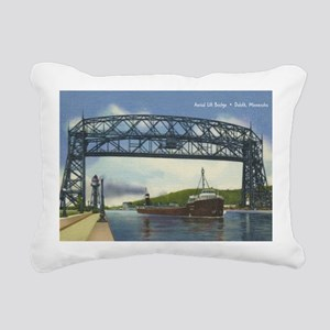 LiftBridge_Print Rectangular Canvas Pillow