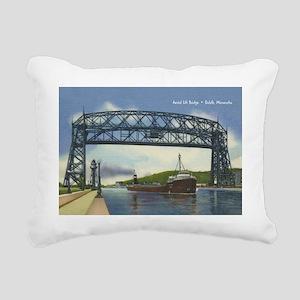 LiftBridge_Gcard Rectangular Canvas Pillow