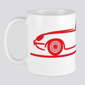Jaguar E-Type Roadster Mug