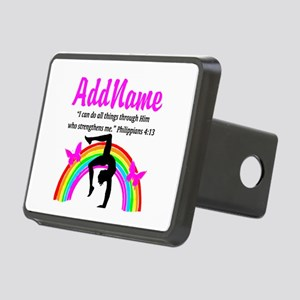 CHRISTIAN GYMNAST Rectangular Hitch Cover