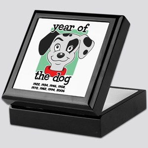 Year of Dog Dalmation Pup Keepsake Box
