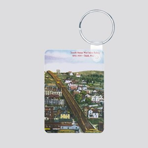 Incline_PrintFramed Aluminum Photo Keychain