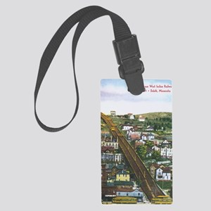 Incline_PrintFramed Large Luggage Tag