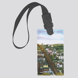Incline_Print Large Luggage Tag