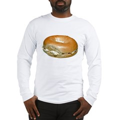 Bagel and Cream Cheese Long Sleeve T-Shirt