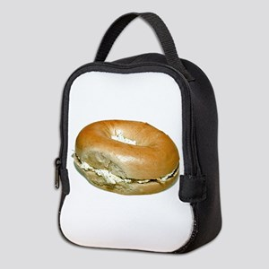 Bagel and Cream Cheese Neoprene Lunch Bag