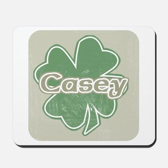 """Shamrock - Casey"" Mousepad"