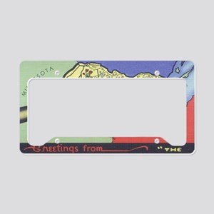 Arrowhead_Print License Plate Holder