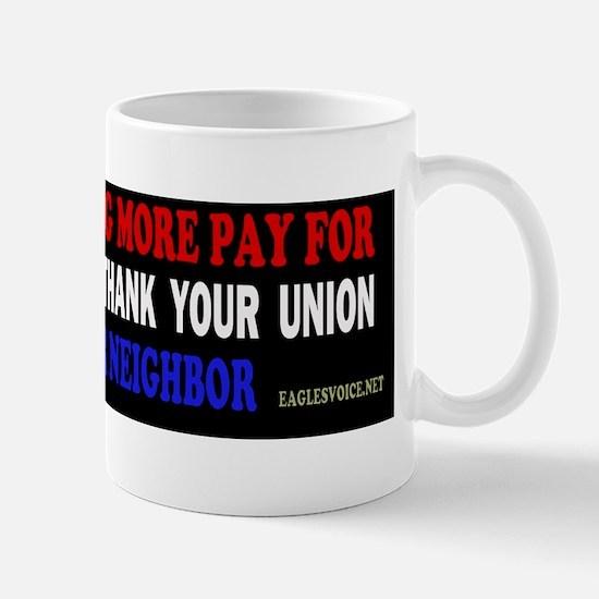 thk NEGHBR bumper copy Mug