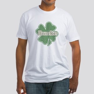 """Shamrock - Burke"" Fitted T-Shirt"