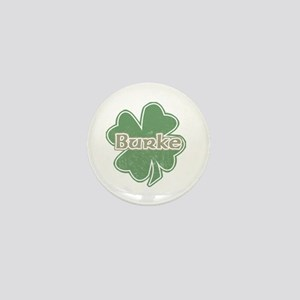 """Shamrock - Burke"" Mini Button"