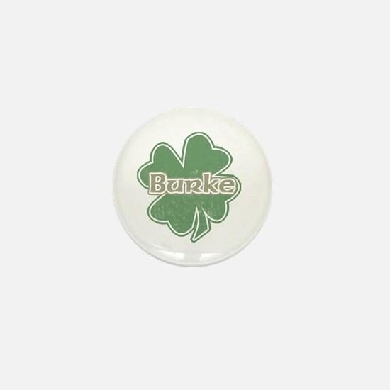 """""""Shamrock - Burke"""" Mini Button"""