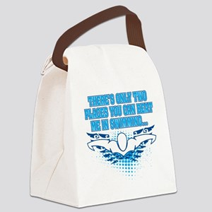 TWO_PLACES_SHIRT Canvas Lunch Bag