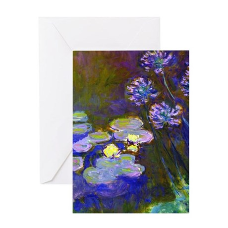 K/N Monet Lil/Aga Greeting Card