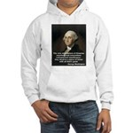 "George Washington ""Firearms"" Hooded Sweatshirt"