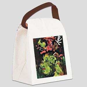 Klee: Frau im Sontagsstat, Paul K Canvas Lunch Bag