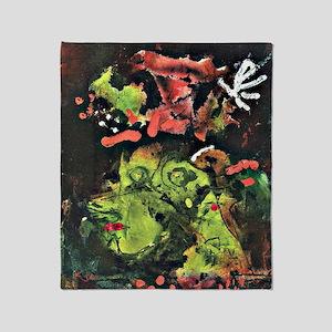 Klee: Frau im Sontagsstat, Paul Klee Throw Blanket