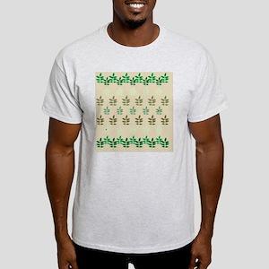 sprigofleavesTanScurtain Light T-Shirt