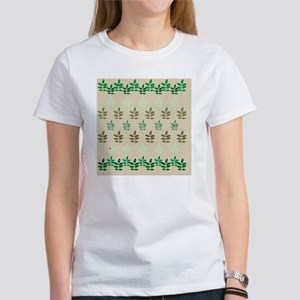 sprigofleavesTanScurtain Women's T-Shirt