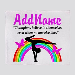 CHAMPION GYMNAST Throw Blanket